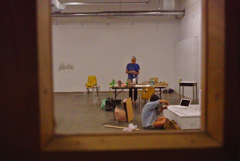 File:Through studio doors.jpg